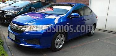 Foto venta Auto Seminuevo Honda City LX 1.5L Aut (2017) color Azul precio $213,000