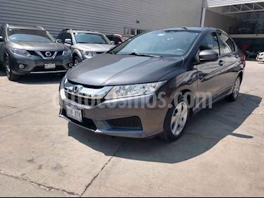 Foto venta Auto usado Honda City LX 1.5L Aut (2016) color Gris precio $195,000