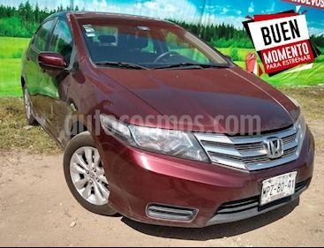 Foto venta Auto Seminuevo Honda City LX 1.5L Aut (2013) color Vino Tinto precio $139,500