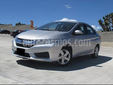 foto Honda City LX 1.5L Aut usado (2016) color Plata Diamante precio $189,000