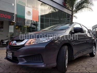 Foto venta Auto Seminuevo Honda City LX 1.5L Aut (2016) color Gris precio $185,000