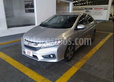 Foto venta Auto usado Honda City LX 1.5L Aut (2014) color Plata precio $165,500
