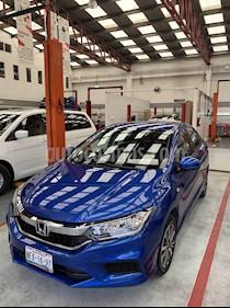 Foto venta Auto usado Honda City LX 1.5L Aut (2018) color Azul precio $245,000