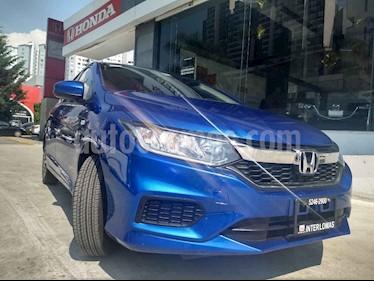 Foto venta Auto usado Honda City LX 1.5L Aut (2018) color Azul precio $255,000
