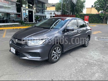 Foto venta Auto usado Honda City LX 1.5L Aut (2018) color Gris precio $218,000