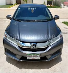 Honda City LX 1.5L Aut usado (2016) color Acero precio $175,000