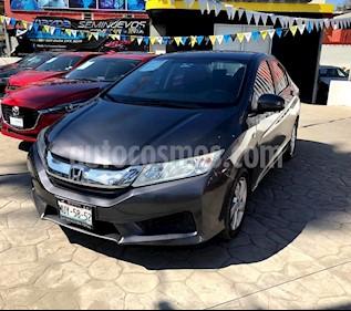 Foto venta Auto usado Honda City LX 1.5L (2015) color Acero precio $185,000