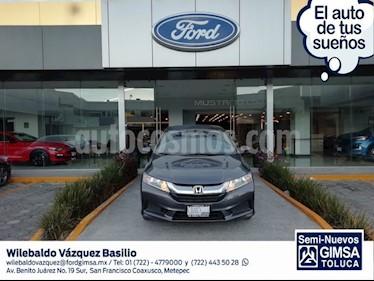 Foto venta Auto usado Honda City LX 1.5L (2017) color Gris precio $189,000