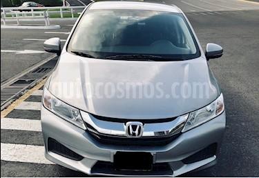 Honda City LX 1.5L usado (2017) color Gris precio $180,000