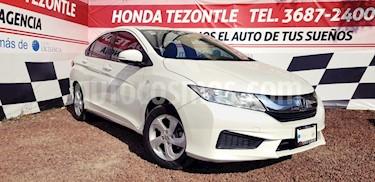 Honda City LX 1.5L usado (2016) color Blanco Marfil precio $210,000