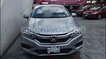Honda City LX 1.5L usado (2017) color Plata precio $213,000