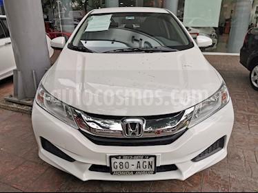 Foto venta Auto usado Honda City LX 1.5L (2016) color Blanco Marfil precio $195,000