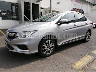 Foto venta Auto usado Honda City LX 1.5L (2018) color Plata Diamante precio $233,000
