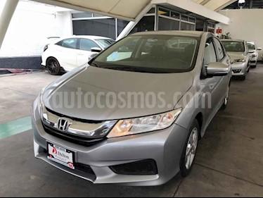 Foto venta Auto usado Honda City LX 1.5L (2017) color Plata precio $219,000