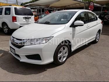 Foto venta Auto usado Honda City LX 1.5L (2017) color Blanco Marfil precio $205,000