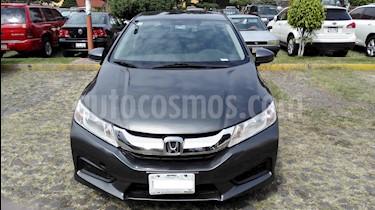 Honda City LX 1.5L usado (2015) color Gris precio $150,000