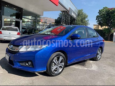 Honda City EX 1.5L Aut usado (2017) color Azul precio $228,000