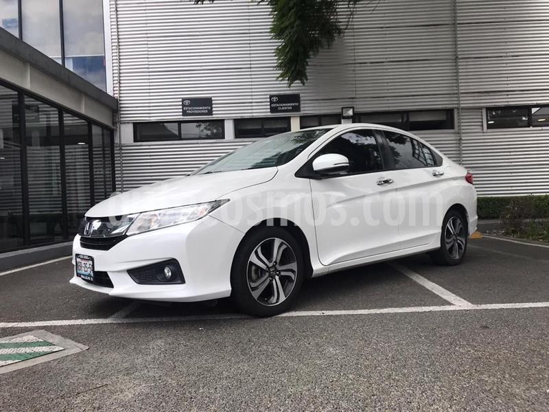 Honda City EX 1.5L usado (2017) color Blanco precio $199,000