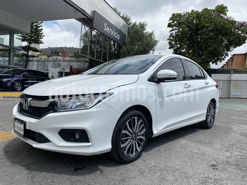 Honda City EX 1.5L Aut usado (2018) color Blanco precio $240,000