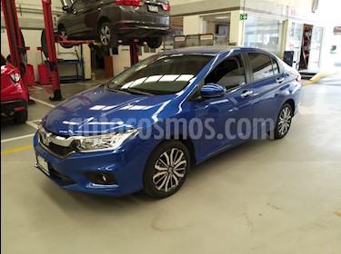 foto Honda City EX 1.5L Aut usado (2020) color Azul precio $265,000