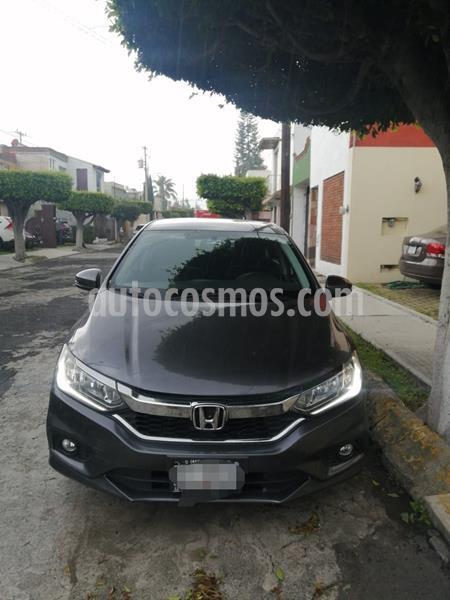 Honda City EX 1.5L Aut usado (2018) color Gris precio $230,000
