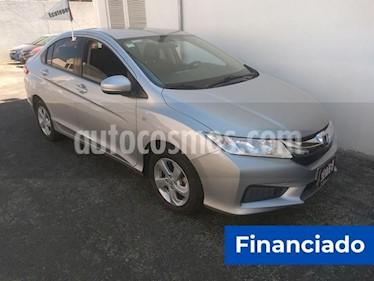 Honda City LX 1.5L usado (2016) color Plata Diamante precio $70,000