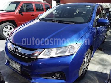 Honda City EX 1.5L Aut usado (2017) color Azul precio $217,000