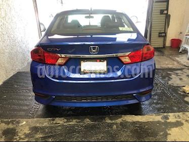 Honda City EX 1.5L Aut usado (2018) color Azul precio $240,000