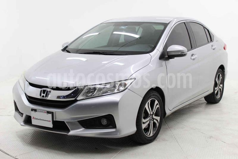 Honda City EX 1.5L Aut usado (2014) color Plata precio $175,000
