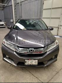 Honda City EX 1.5L Aut usado (2014) color Azul precio $145,000