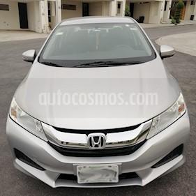 Honda City LX 1.5L Aut usado (2014) color Plata precio $140,000