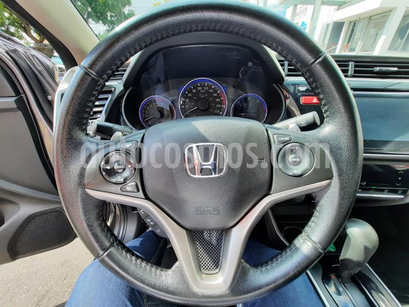 Honda City EX 1.5L usado (2017) color Gris precio $215,000