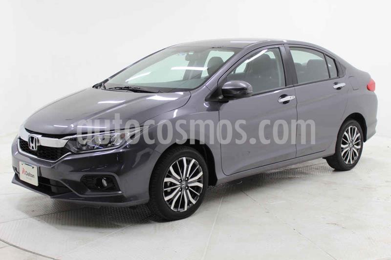 Honda City EX 1.5L Aut usado (2020) color Gris precio $289,000