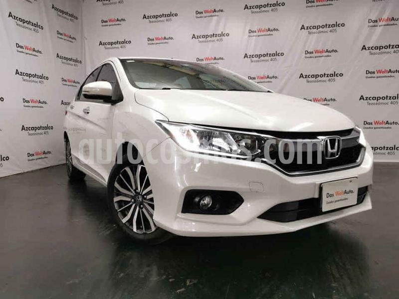 Honda City EX 1.5L Aut usado (2018) color Blanco precio $228,990