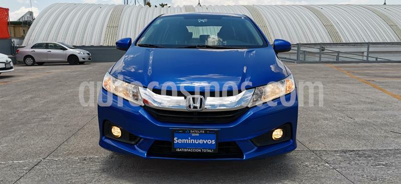 Honda City EX 1.5L Aut usado (2017) color Azul precio $205,000