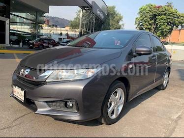 Honda City 4p LX L4/1.5 Aut usado (2017) color Gris precio $213,000