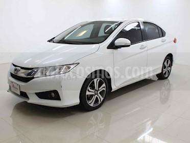Honda City EX 1.5L Aut usado (2017) color Blanco precio $219,000