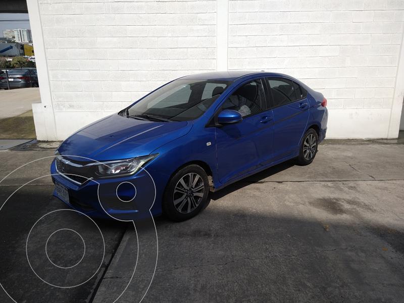 Foto Honda City LX 1.5L usado (2018) color Azul precio $210,000