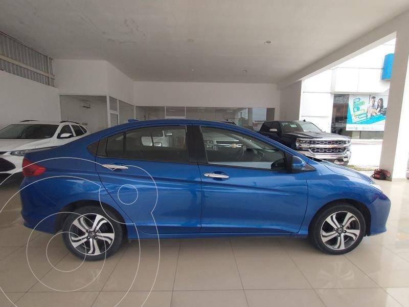 Honda City EX 1.5L usado (2017) color Azul precio $220,000