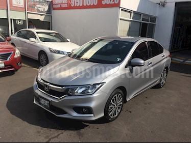 Honda City EX 1.5L Aut usado (2018) color Plata Diamante precio $257,000