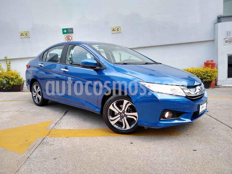 Honda City EX 1.5L Aut usado (2017) color Azul precio $206,000