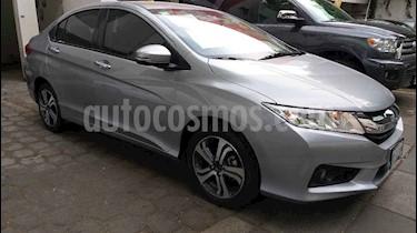 Honda City 4p EX L4/1.5 Aut usado (2017) color Plata precio $225,000
