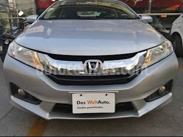 Honda City 4p EX L4/1.5 Aut usado (2014) color Plata precio $140,000
