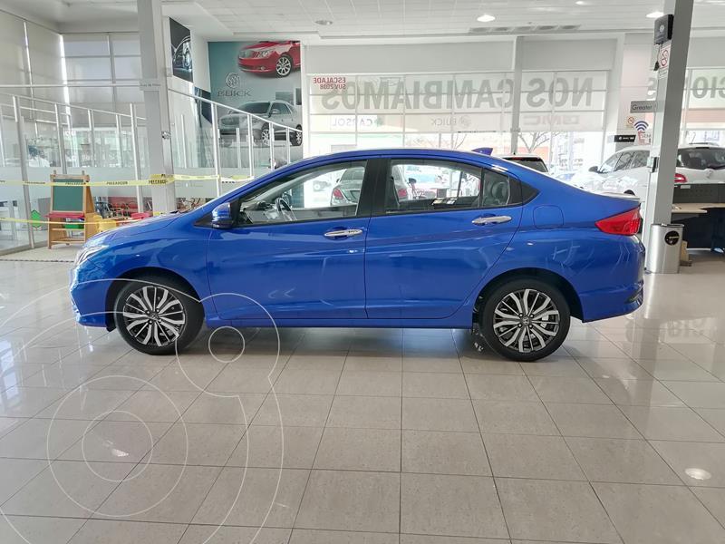 Foto Honda City EX 1.5L usado (2020) color Azul precio $286,000