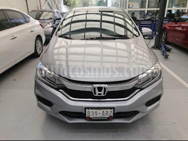 Honda City EX 1.5L usado (2018) color Plata Diamante precio $215,000