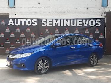 Honda City EX 1.5L Aut usado (2017) color Azul precio $195,000