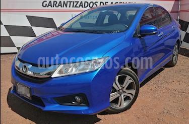 Honda City EX 1.5L usado (2017) color Azul precio $210,000