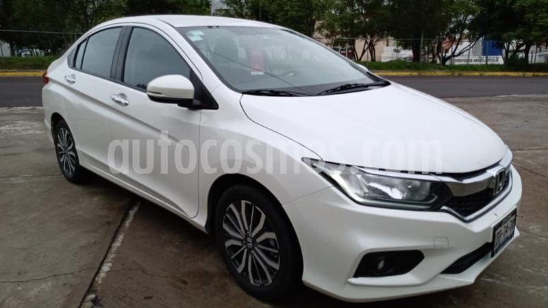 Honda City EX 1.5L usado (2018) color Blanco precio $218,000