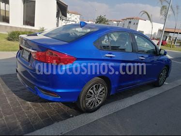 Honda City EX 1.5L Aut usado (2018) color Azul precio $242,000