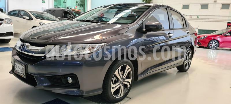 Honda City EX 1.5L usado (2015) color Granito precio $194,100